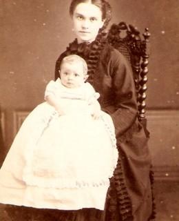 Lange, Adèle et son fils Maurice