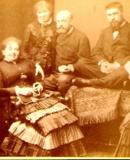 Poupardin, Paul et sa belle-famille