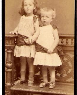 Poupardin, Adèle et Raymond