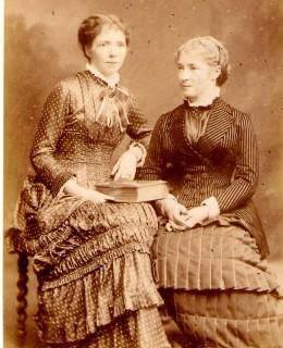 Hofer, les deux sœurs : Thérèse Schwartz et Marie-Rose Thierry-Mieg