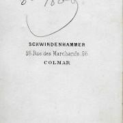 Références : Martha, Louise (1871) ; Martha Marguerite ; Martha, Mathilde (octobre 1869) ; Poupardin, Frantz ; Schaller, Amélie ; Schaller, madame