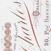 Références : Poupardin, Marcel et Gabriel (du Rivage) 1888