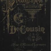 Références : Poupardin, Henriette, née Buisson (cliché 2870) ; Poupardin, Maurice, cliché 28701