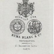 Références : Bock, Léopold Henri ; Mény, Édouard ; Mény, Georges ; Mény, Léonie, née Hébert
