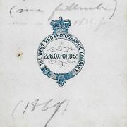 Références : Landert, Marie-Louise (1867)