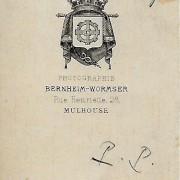 Références : Wehekind, Edmond : _?Alsace49 (Bernheim-Wormser) ;  _?Alsace50 (Bernheim-Wormser)