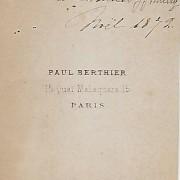 Références : Thierry-Mieg, Anna, Louise, Jenny, Élisabeth, Paul (1872)