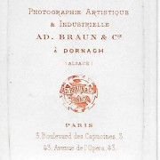 Références : Diemer, Marie et Marguerite (1881) ; Kœchlin, Marc ; Thierry-Mieg, Madeleine, Thérèse ; Thierry-Mieg, Madeleine, Thérèse, etc. (1882)