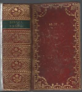 Bible de Marie-Madeleine Hummel.