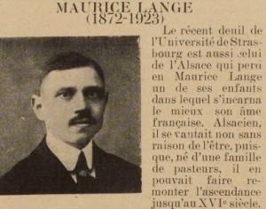 Maurice Lange